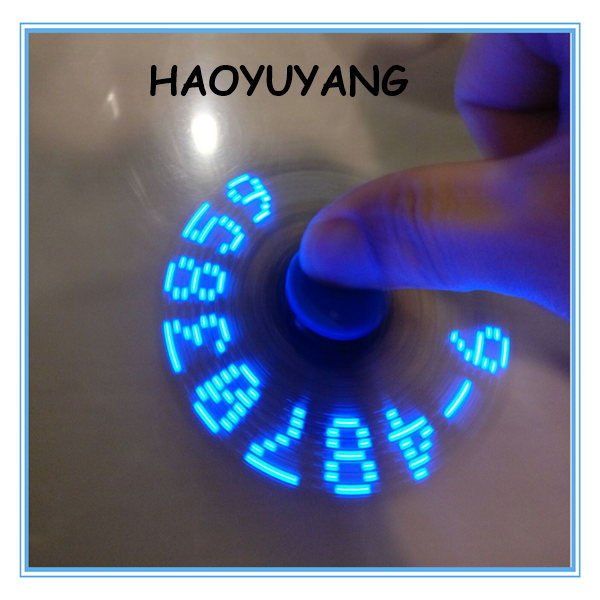 2017 Hot Sale Latest LED APP Fidget Spinner Hand Digital Spinner