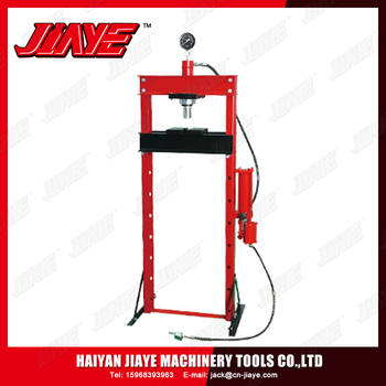 2017 High Quantity Cheap Price Hydraulic Shop Press with Gauge