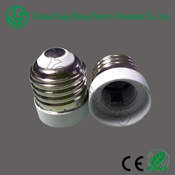 Pc And Aluminum Material E27 To E17 Led Lamp Socket Outlet Adaptor ...