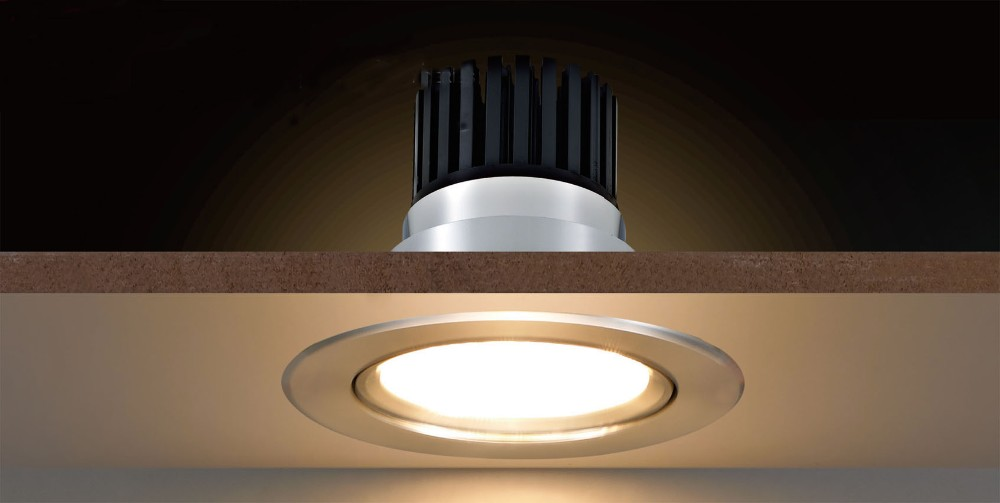 No Strobe Cob Led Bathroom Ceiling Light Factory Direct Sales ...