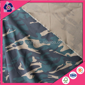 tc sheeting camouflage printed fabric stock