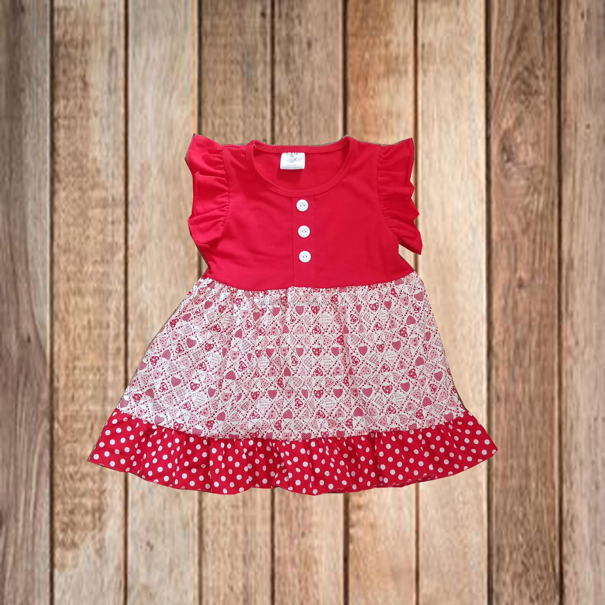 Children Clothing Sets India Wholesale Clothes Pink Ruffle Top And