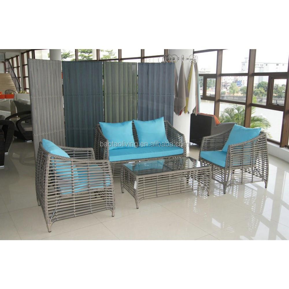 Housse De Canapé Shabby Chic nouveau style! shabby chic en plastique en osier canapé ensemble de meubles  avec joli tissage - buy muebles,meubles de jardin,meubles de patio product