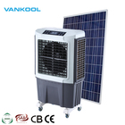 Solar air conditioner 6000m3/h factory plastic body industrial new evaporative water air cooler at low price
