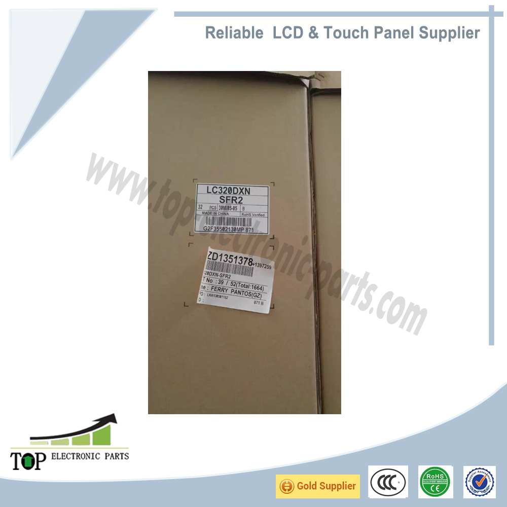 For LG display LC320DXN-SFR2 32 inch or 31.5 inch 1366X768 WLED LVDS LCD screen display panel monitor original new in stock