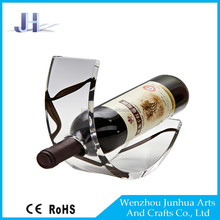 High structure many colour wine holder acrylic compare price display for wine bottle