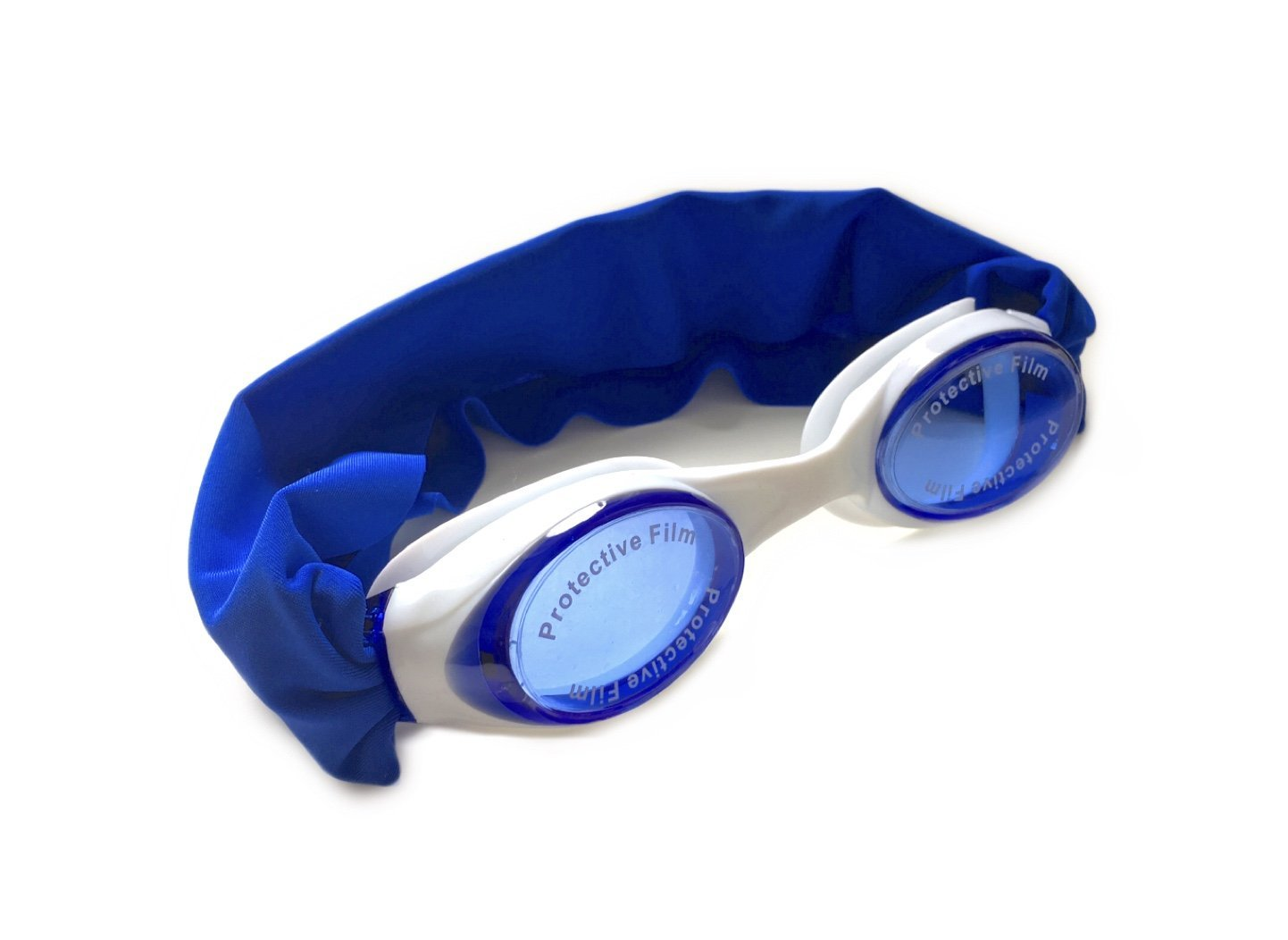 "SPLASH ""ROYAL"" Swim Goggles - Fun Fashionable Comfortable - Fits Kids & Adults - Won't Pull Your Hair - Easy to Use - High Visibility Anti-Fog Lenses - PATENT PENDING"