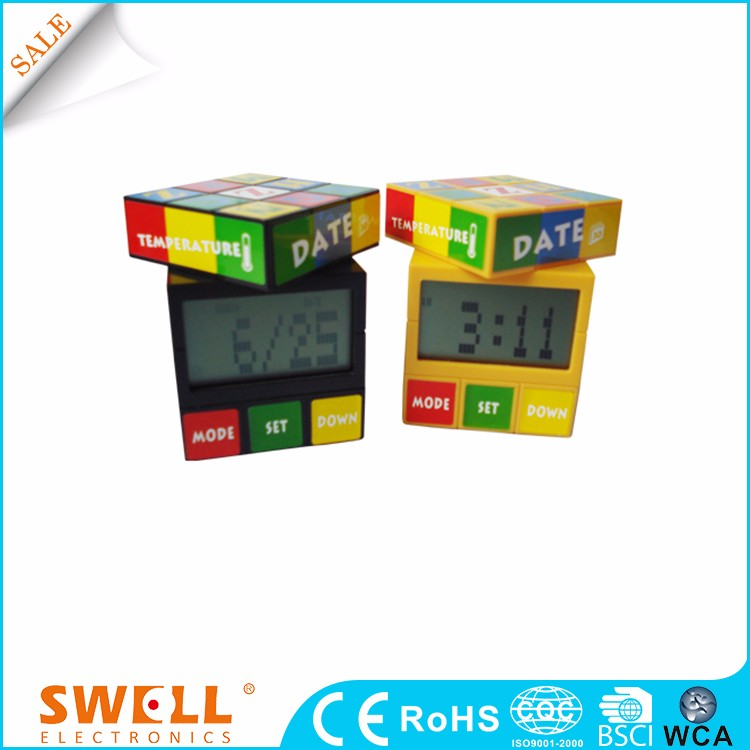 mini desktop toy clock gift , digital clock with second for desktop