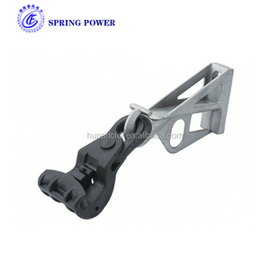 Aerial OPGW Cable Accessories Insulated Suspension Clamp for abc adss