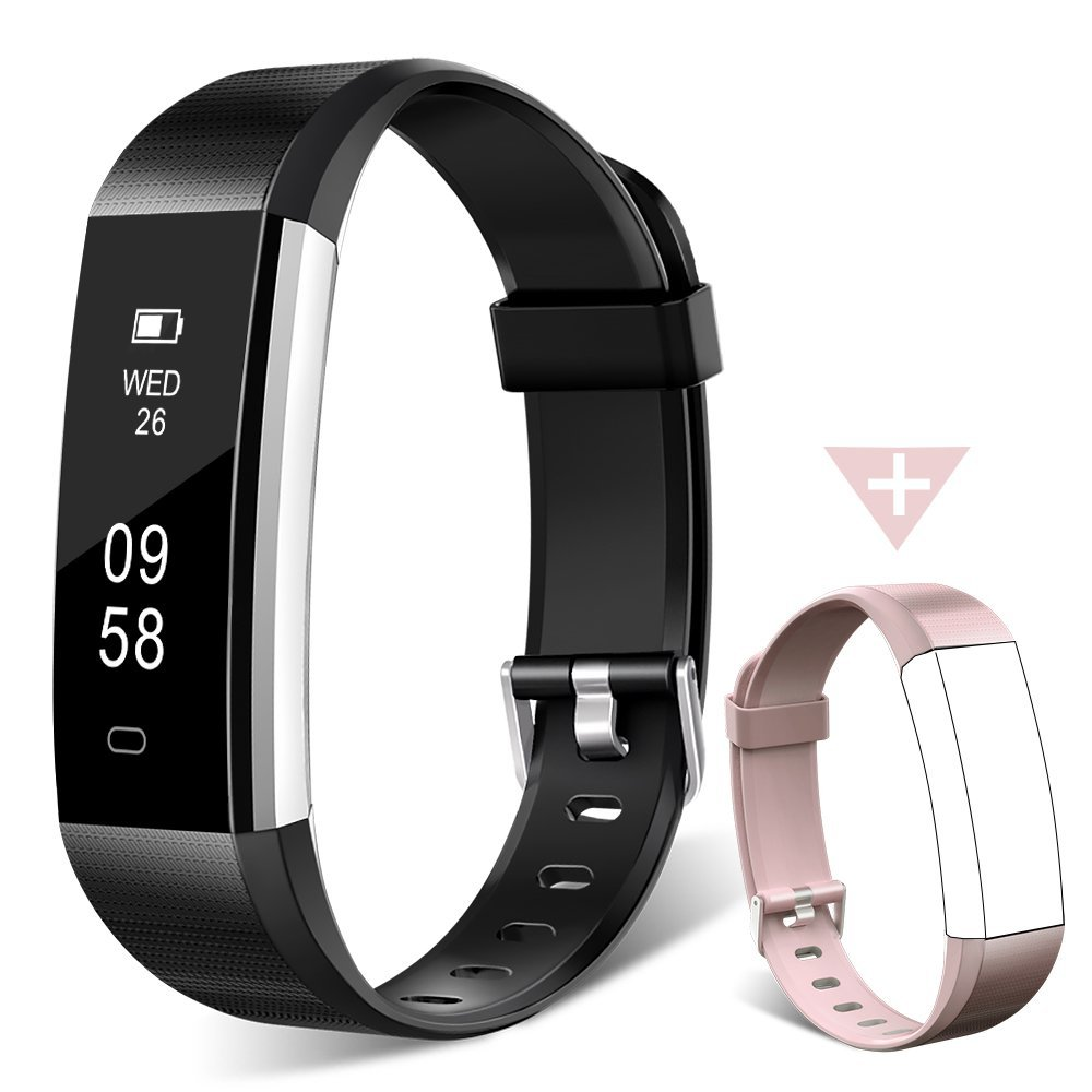 HOMOGO Fitness Tracker Watch, H2 Fitness Watch Activity Tracker with Sleep Monitor, Smart Pedometer Watch for Step Distance Calories Track