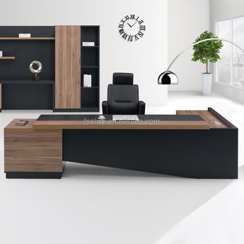 Luxury office furniture Office System Furniture L Shape Manager Executive Office Desks