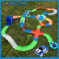 Slot toy racing car slot car race track sets magic track toys car