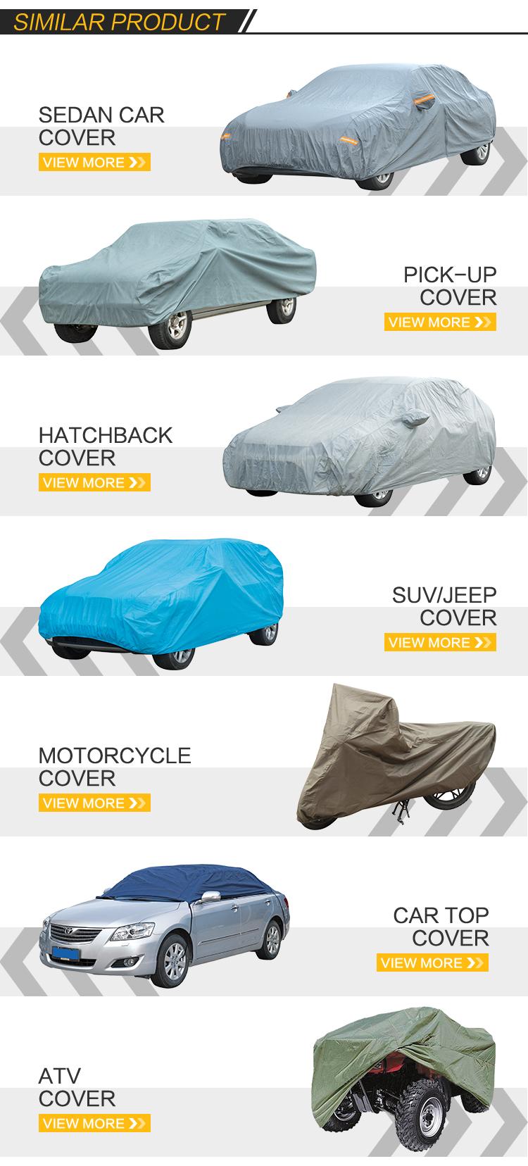 Groothandel Opblaasbare Waterdichte UV beschermen PVC Auto Cover