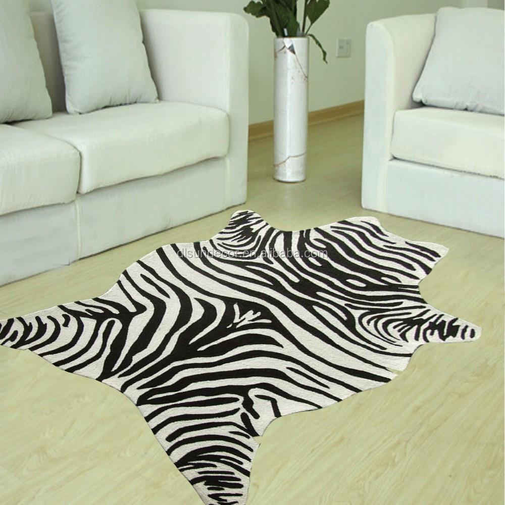 polyester hand made zebra teppich produkt id 60418703469. Black Bedroom Furniture Sets. Home Design Ideas