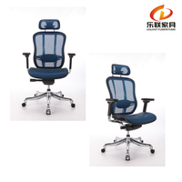 COZY-A1-M-5 china ergohuman chairs manufacture Swivel Ergonomic Mesh Office Chair With Headrest