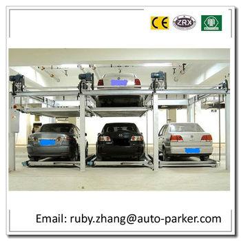 2 Level Mechanical Parking Equipment 3d Puzzle Parking System Smart