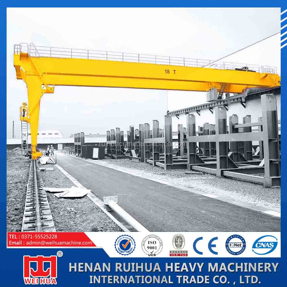 BMH model semi gantry crane, launching gantry, A frame gantrt crane for sale