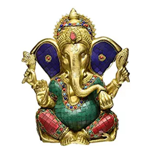 Hindu long ear god ganesha buddha statues party souvenir