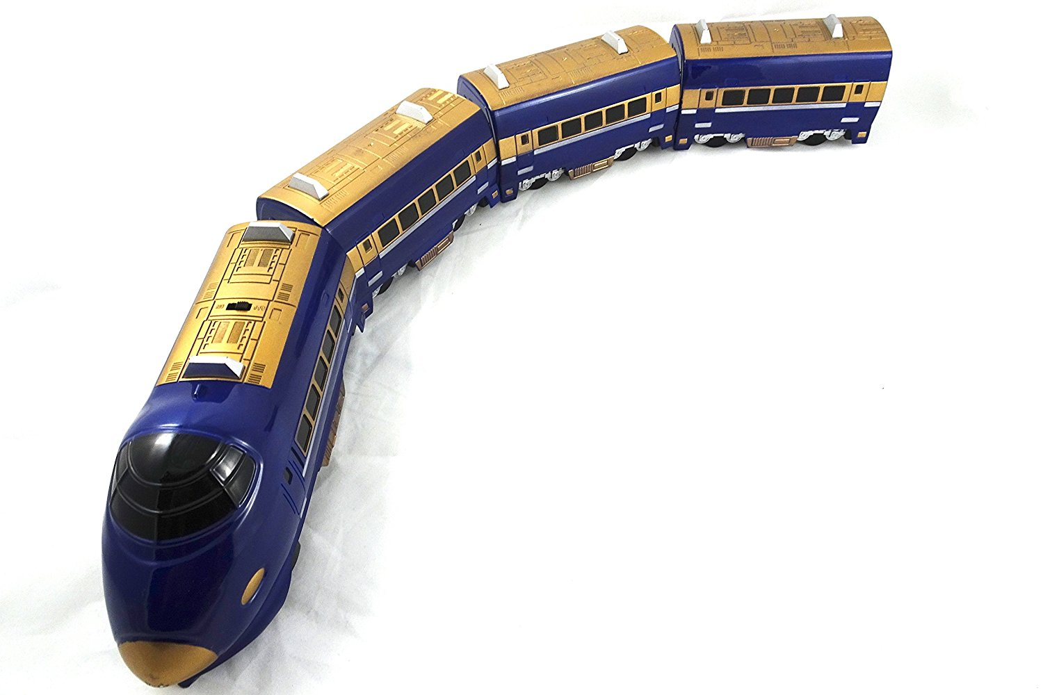 Toy Train Express Classical Toy Passenger Train Features Bump n Go Technology Battery Operated Fast Train With Sound