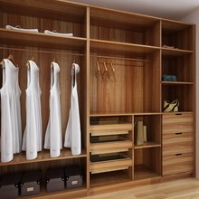 Australia Project Wooden Modern Design Clothes Cabinet Garderobe