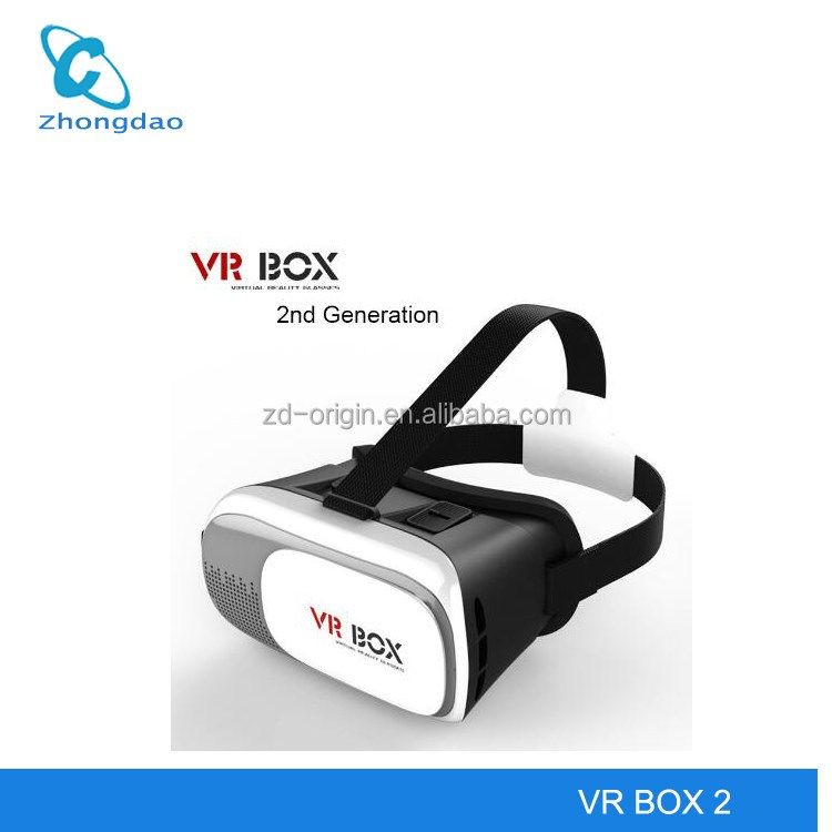 HVR BOX 2.0 HD virtual reality 3D mobile phone 3d vr glasses for 3d movies and 3d games