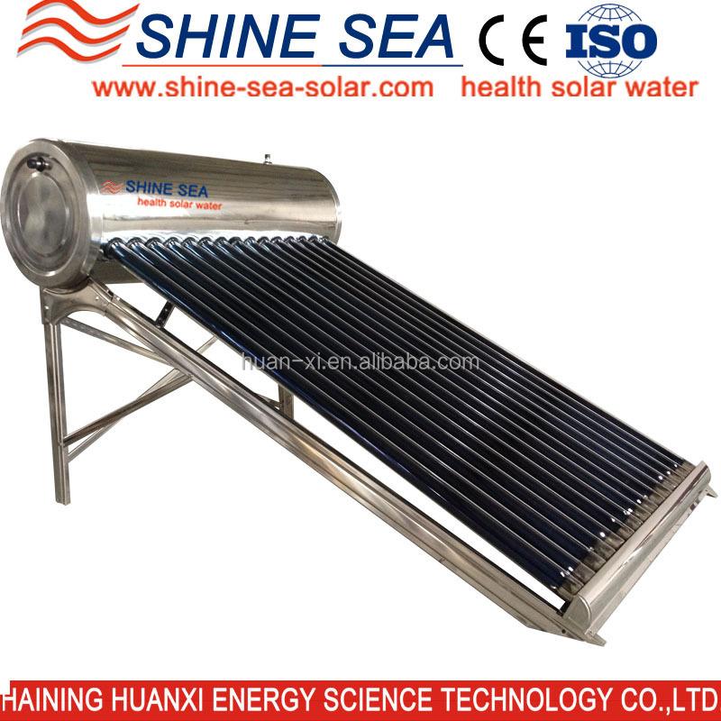 Portable Solar Water Heater : Best performance mini portable solar heater de mexico