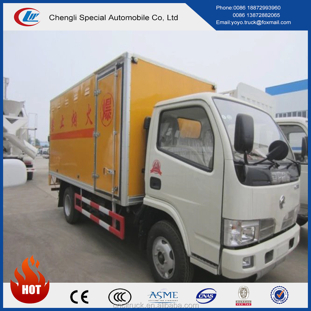 Detonators or Fireworks Transported Truck, DF Explosion Proof Van Truck for sale