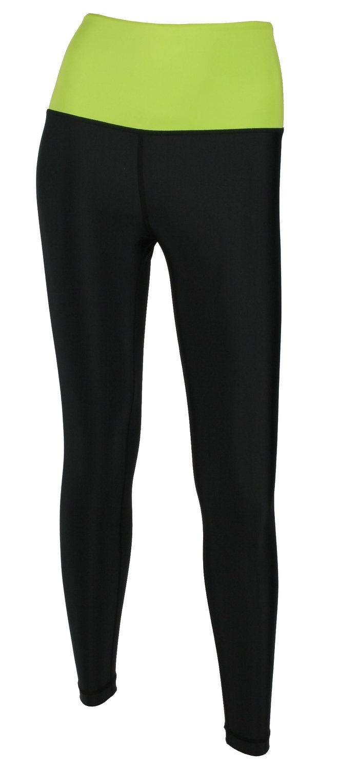 X-prin A500 Series Women's Two-tone High Waist Long Pants Base Layer Compression