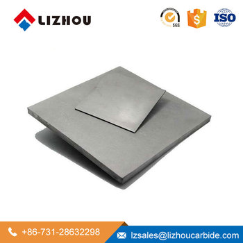 YG6 YG8 Zhuzhou Brand Polished and grinding Tungsten Carbide plate