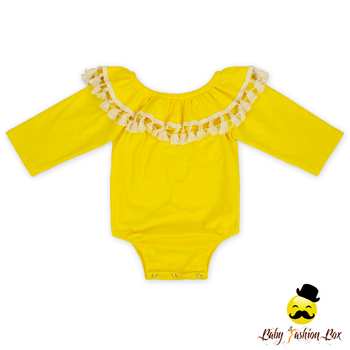 85eeadcf4971 Organic Cotton Baby Rompers Wholesale Baby Clothes Solid Color Tassel Infant  Baby Plain Romper