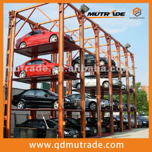 improved high-calss automatic used stacker four post car parking hoist lift