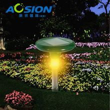 AOSION Patent Designed Beautiful Night Light Solar Sonic vibrate top selling anti snake