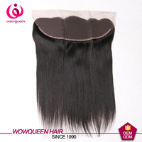 wholesale ear to ear lace frontal 13x4, pre plucked raw indian hair 360 lace frontal