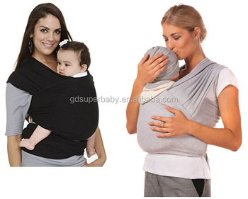 Best Seller In 2017 Baby Sling Stretchy Wrap Carrier For Newborn