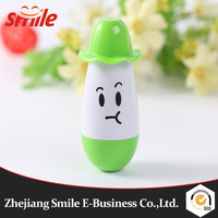 New Office school supplies Retractable Ball point pen cartoon Telescopic face pills Pen