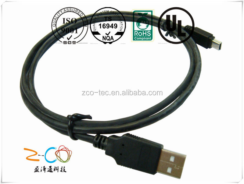 short leas time usb 3.0 a type to mini b type cable manufacturer