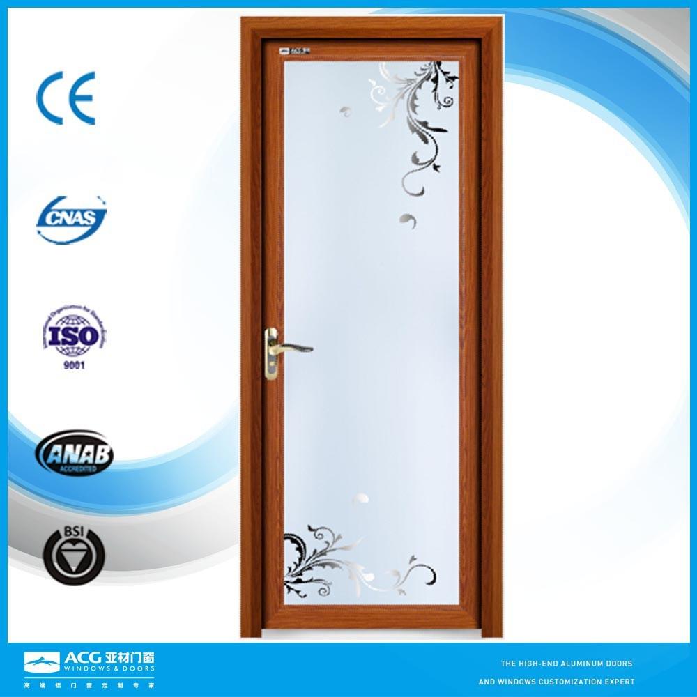 Aluminum Frame Glass Dooroffice Entrance Glass Doorbalcony Door