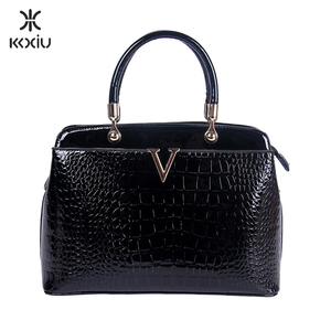 china famous brand crocodile leather design handbags for women