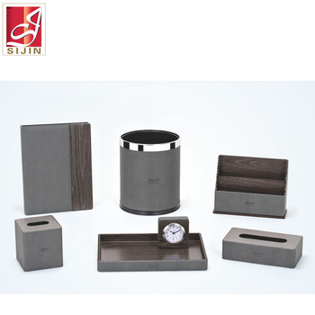 Sijin five star hotel supplies hotel room leather products