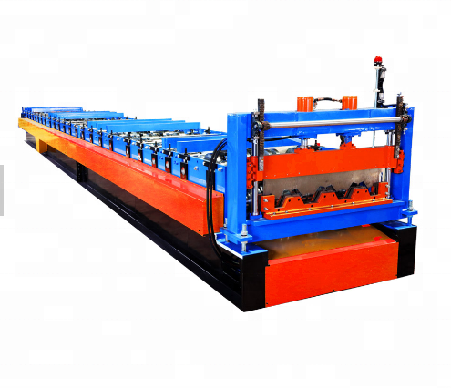 Hot koop floor decking machine metalen dek roll forming machine