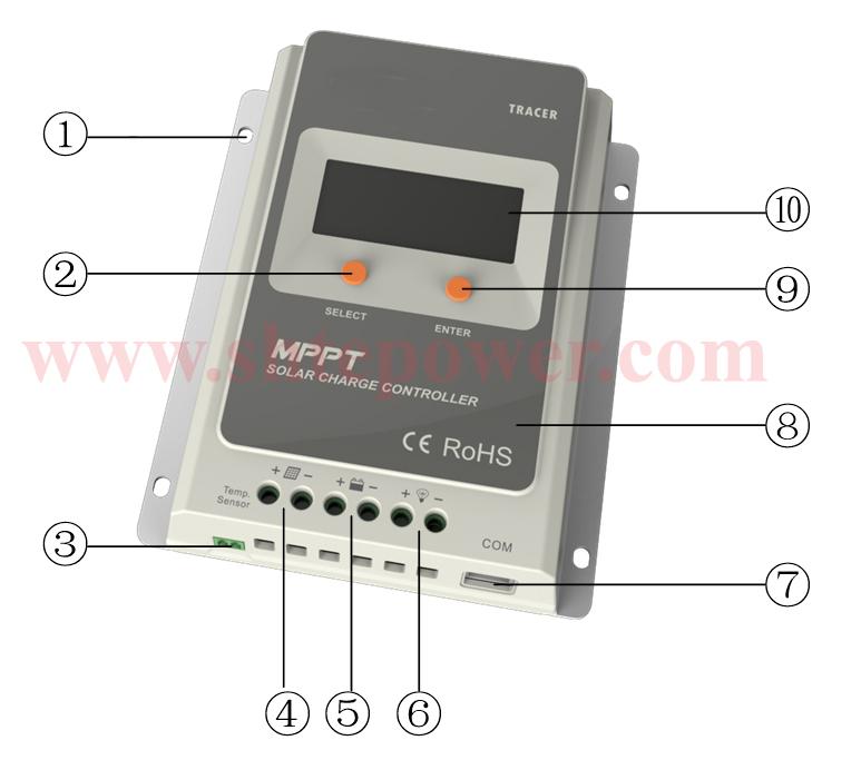 HTB17vPVJpXXXXcNXVXXq6xXFXXXc tracer 3210a epsloar 30a mppt solar charge controller 12v 24v lcd  at suagrazia.org