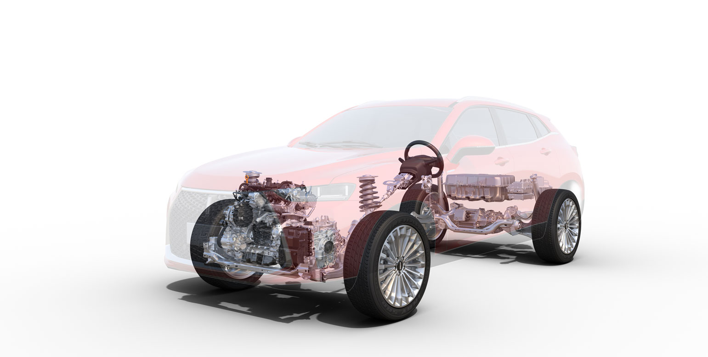 Luxury P8 Hybrid petro/Electric SUV car 172KW 234HP 2.0T