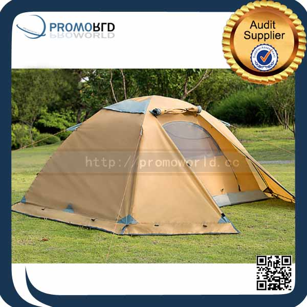 2 Person Double Layer Waterproof 4 Season Outdoor Camping Luxury Tent
