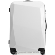 White Luggage Travel Set Bag ABS Trolley Hard Shell Suitcase w/TSA lock