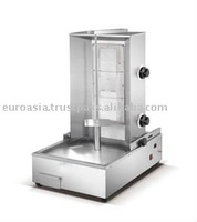 KITCHEN EQUIPMENT - GAS KEBAB BROILER 2-BURNER