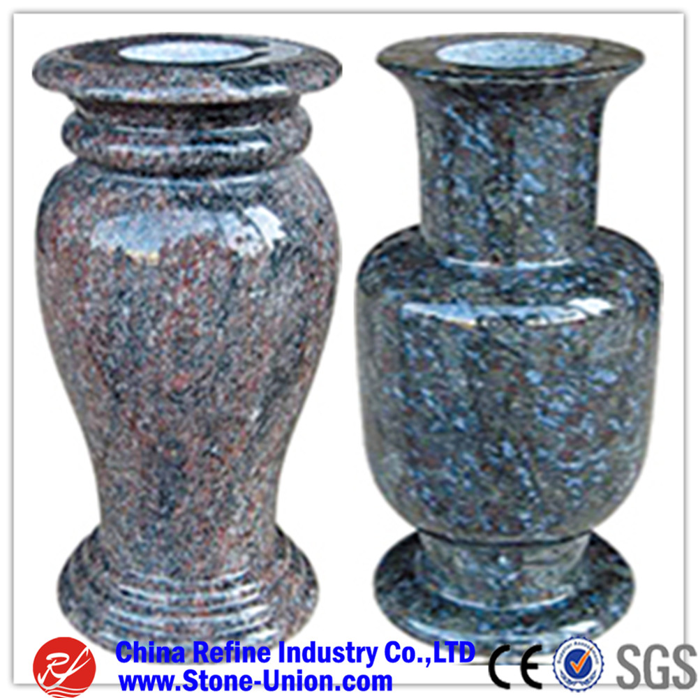 Blue granite vase cemeterygranite vases for grave for sale buy blue granite vase cemeterygranite vases for grave for sale reviewsmspy