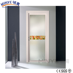PVC plastic door material design pvc bathroom door