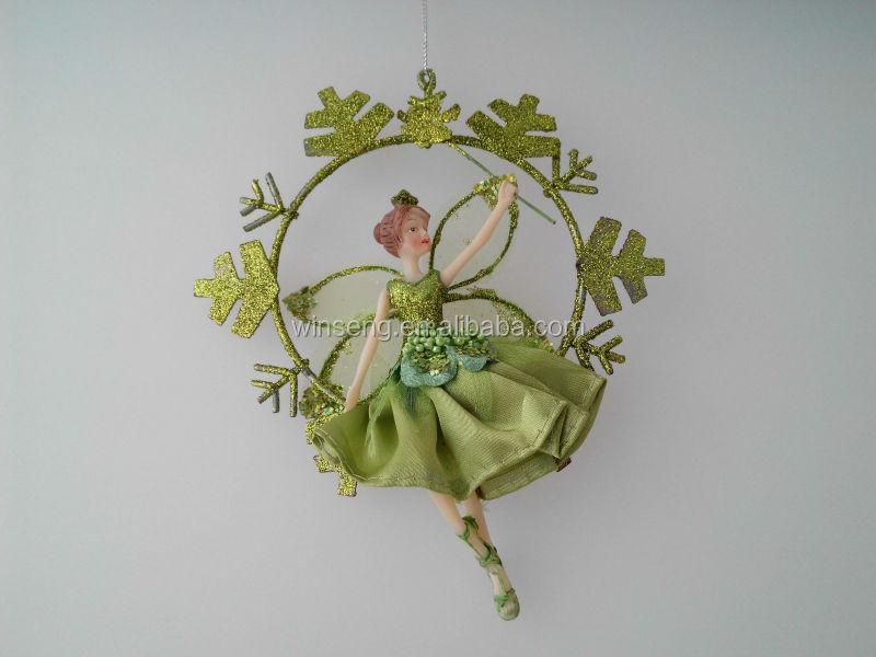 handmade polyresin de hadas adornos colgantes