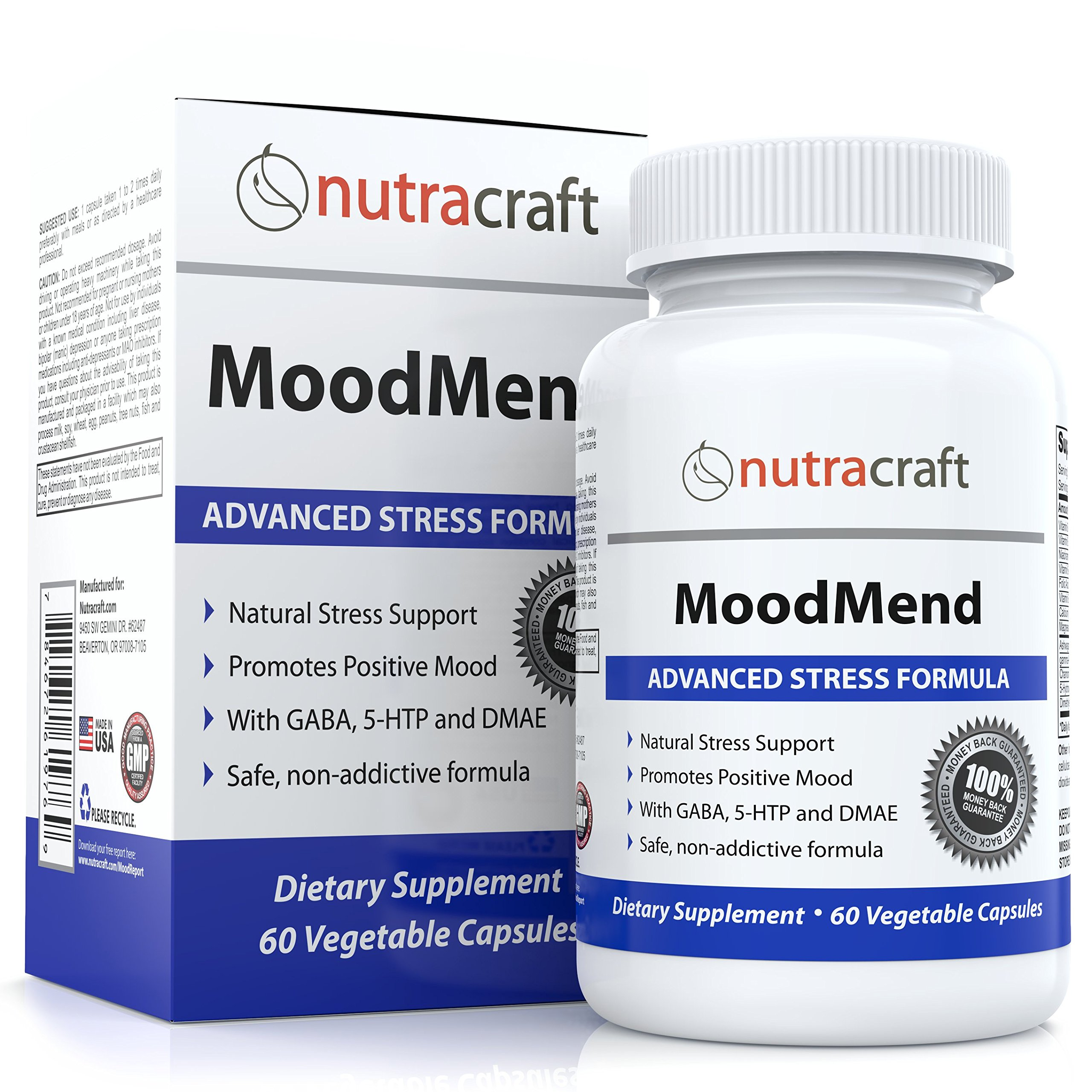 Buy Natural Stress and Anxiety Relief Supplement Pills