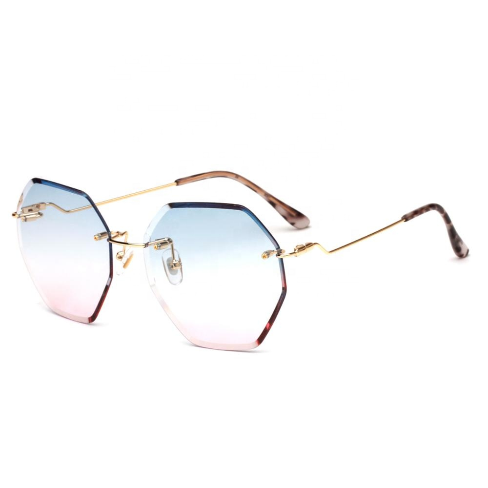 Shihan S135 Best Leading Factory polygons irregular without frames Promotion Sunglasses 2019 фото
